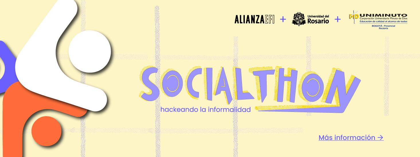 Banner para la Socialthon