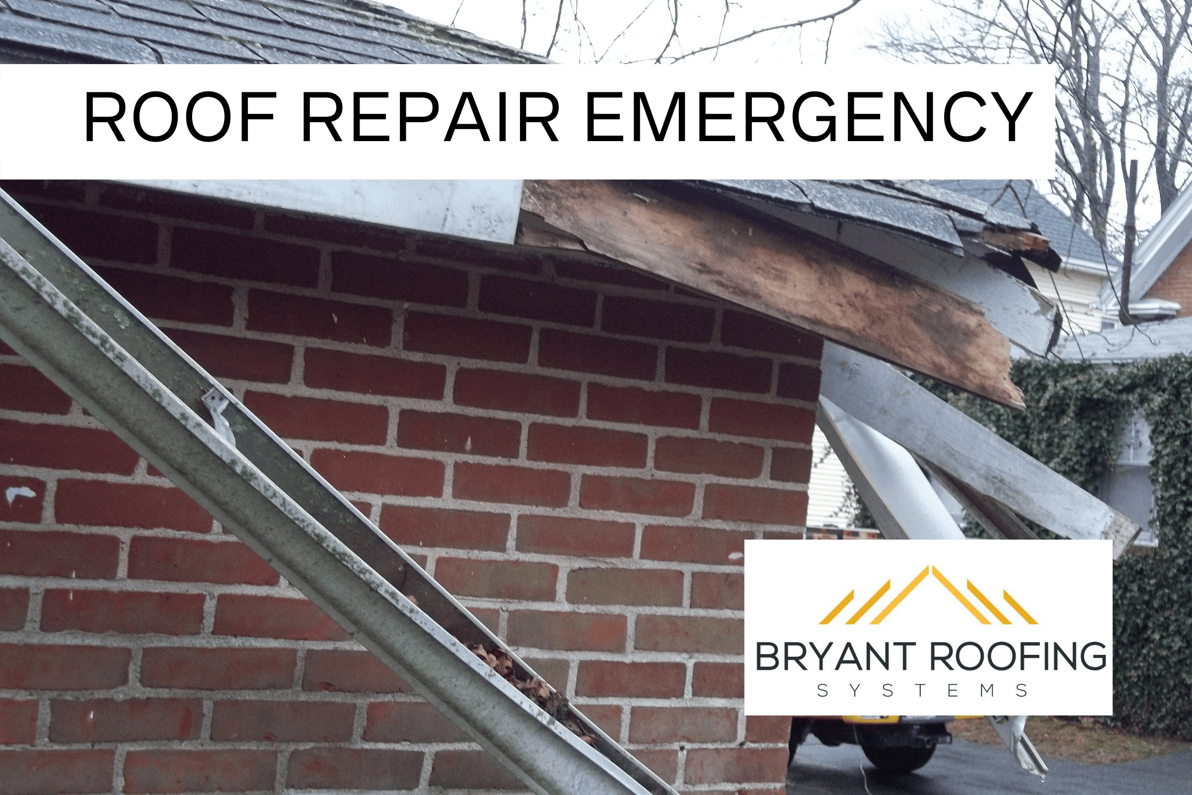 BROKEN ROOF REPAIR EMERGENCY