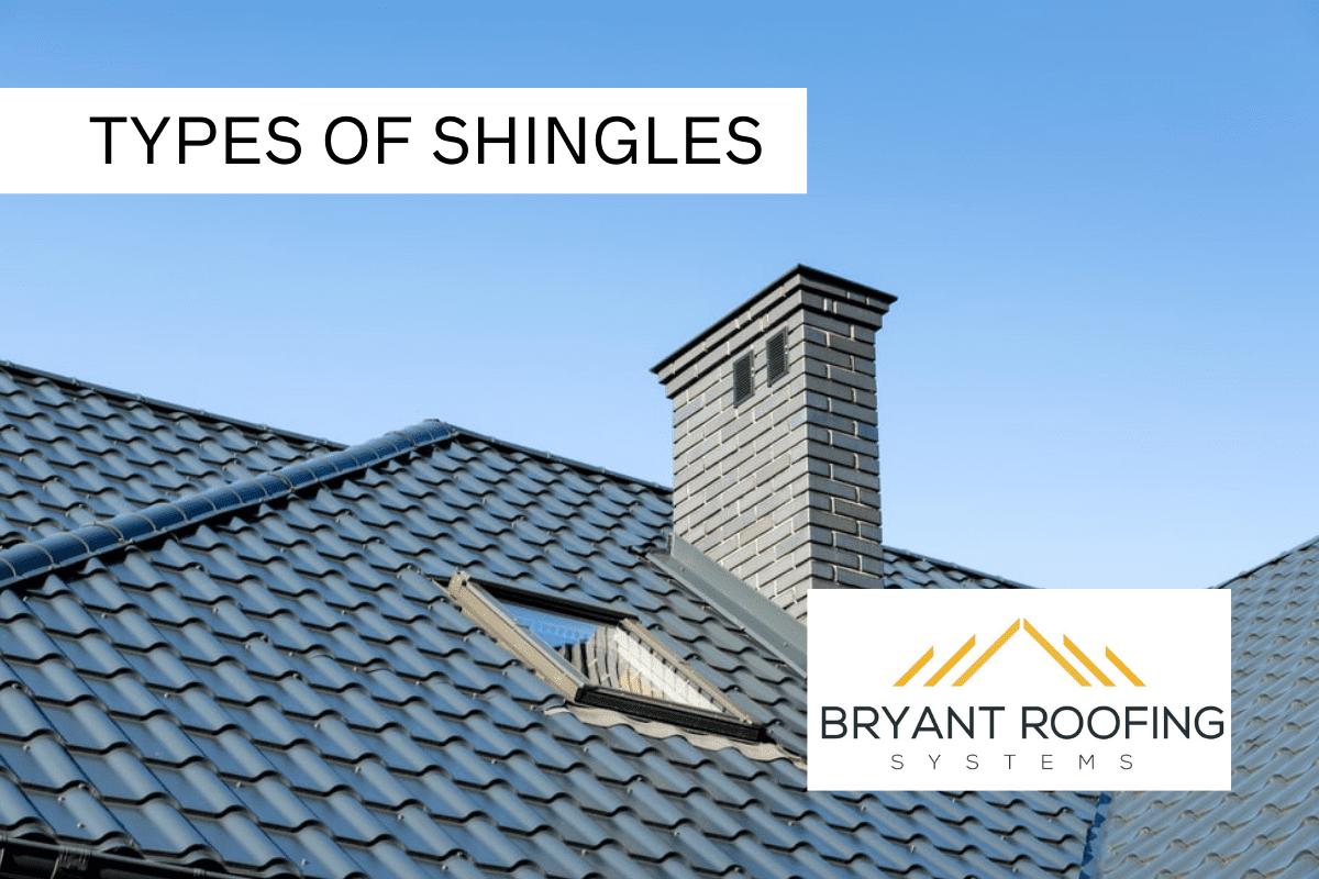 types of roof shingles - aluminum shingles
