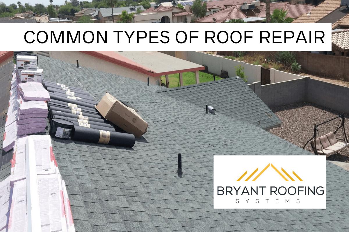 common roof repair type
