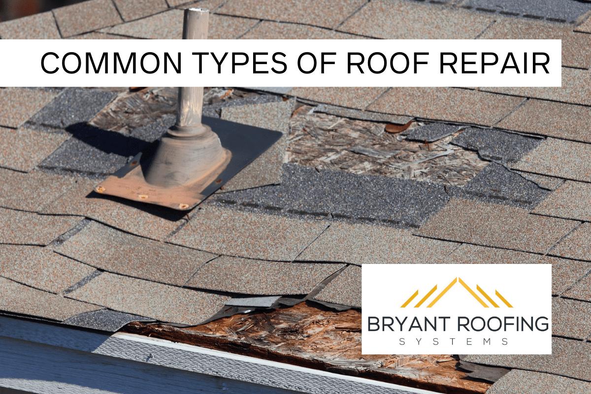 common roof repairs