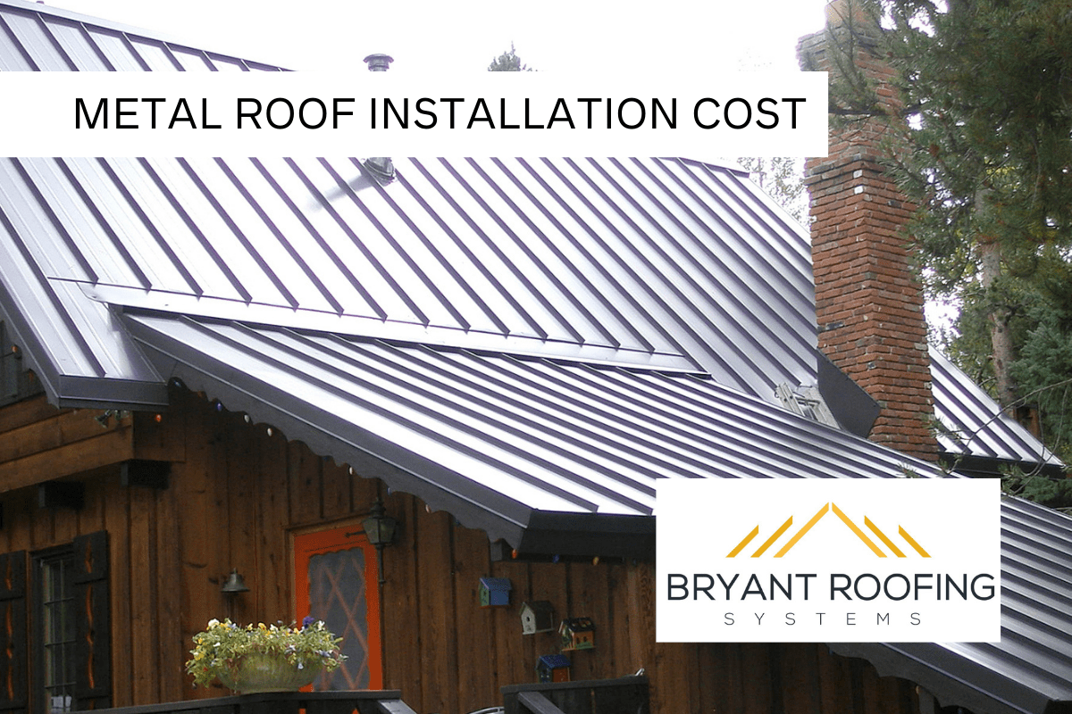 AVERAGE METAL ROOF INSTALLATION COST