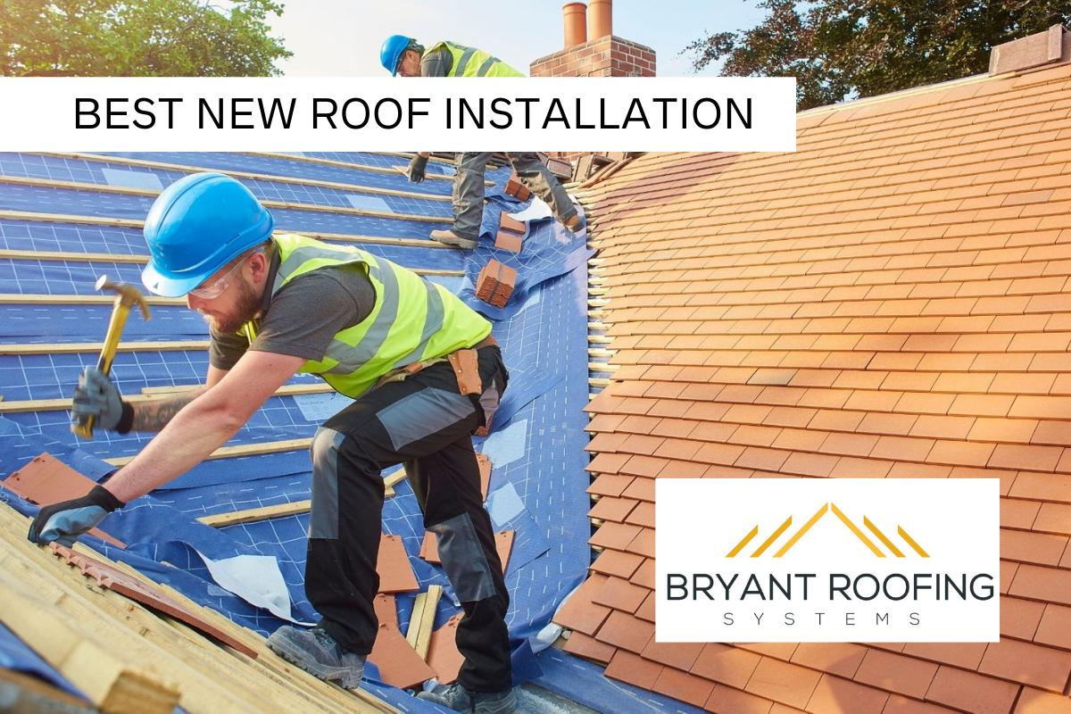 BEST NEW roof installation