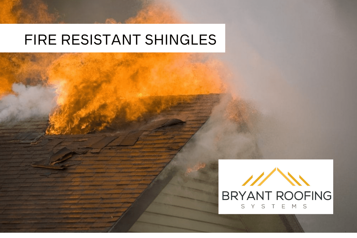 FIRE RESISTANT ASPHALT SHINGLES