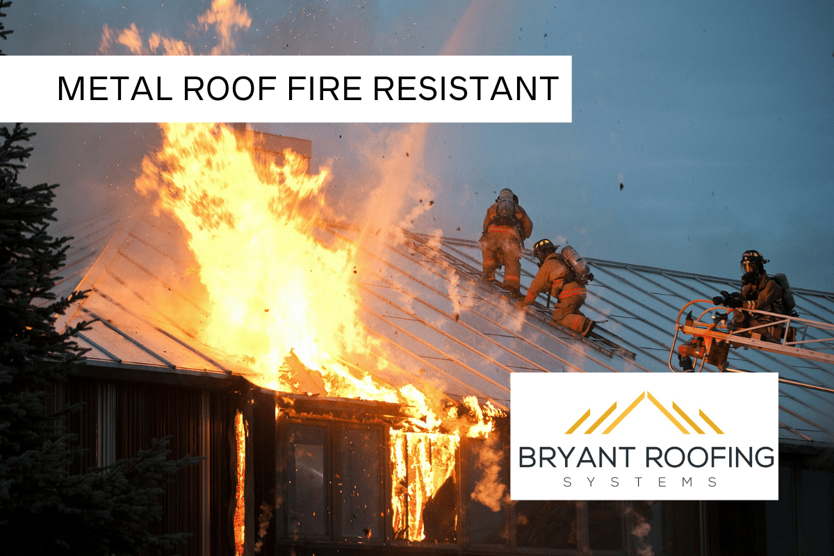 METAL ROOF FIRE
