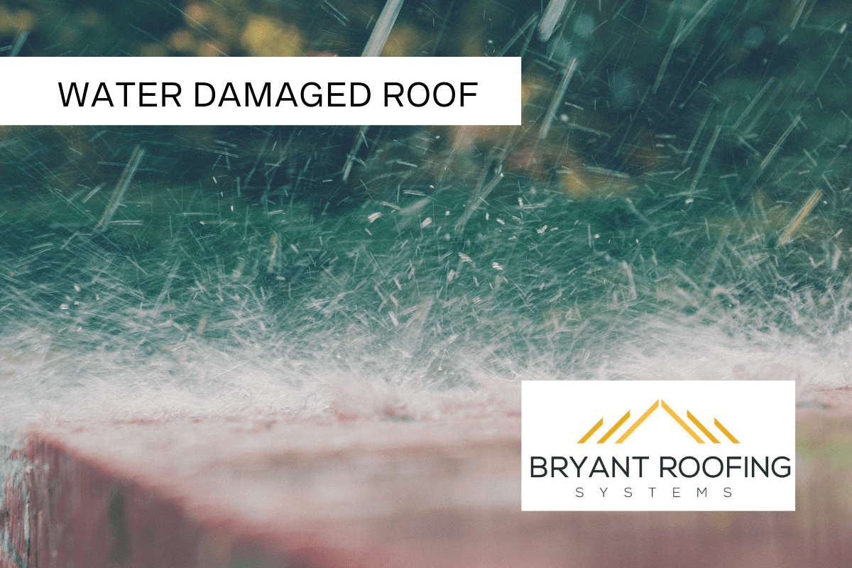 WATER DAMAGED ROOF