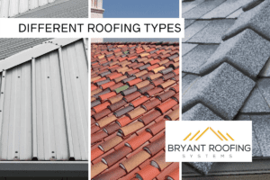 DIFFERENT ROOFING TYPES