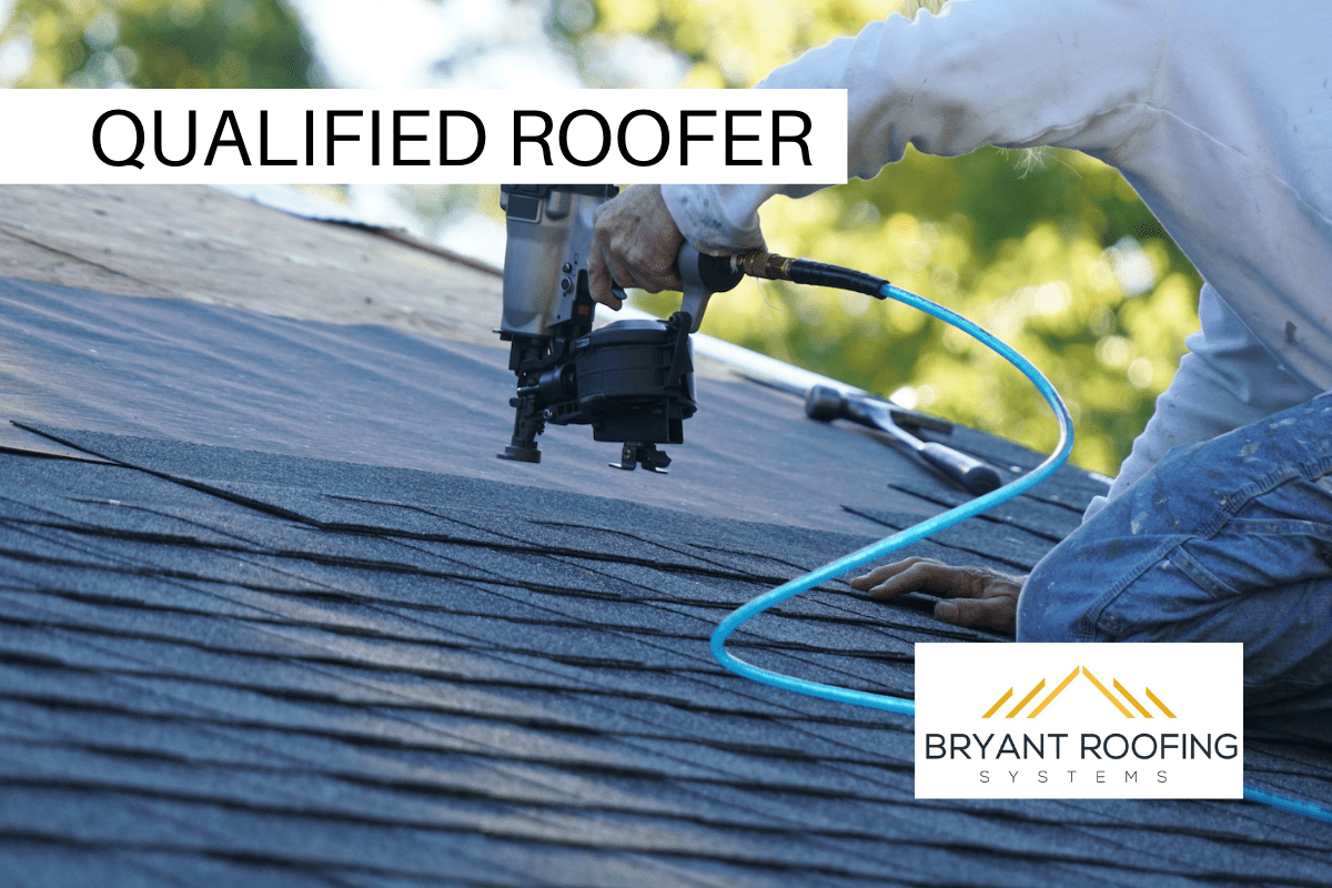 QUALIFIED ROOFER