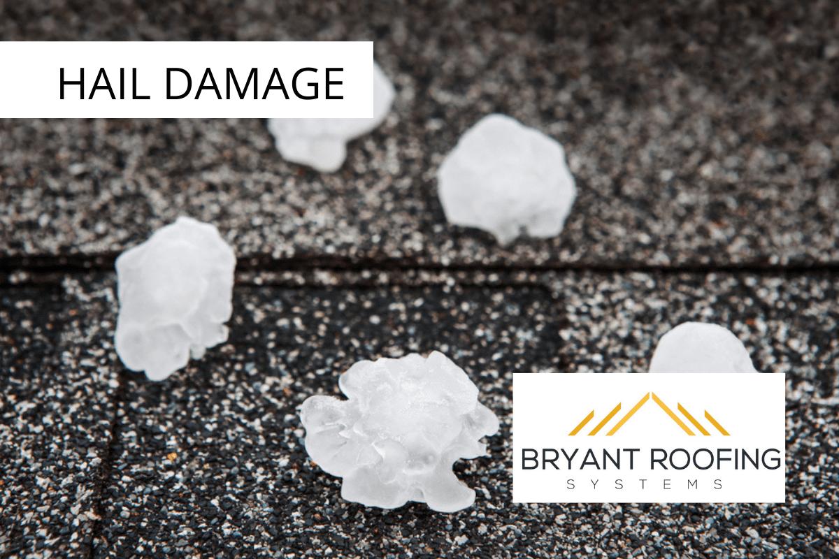 golf ball sized hail damage