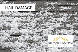 hail damage in a storm