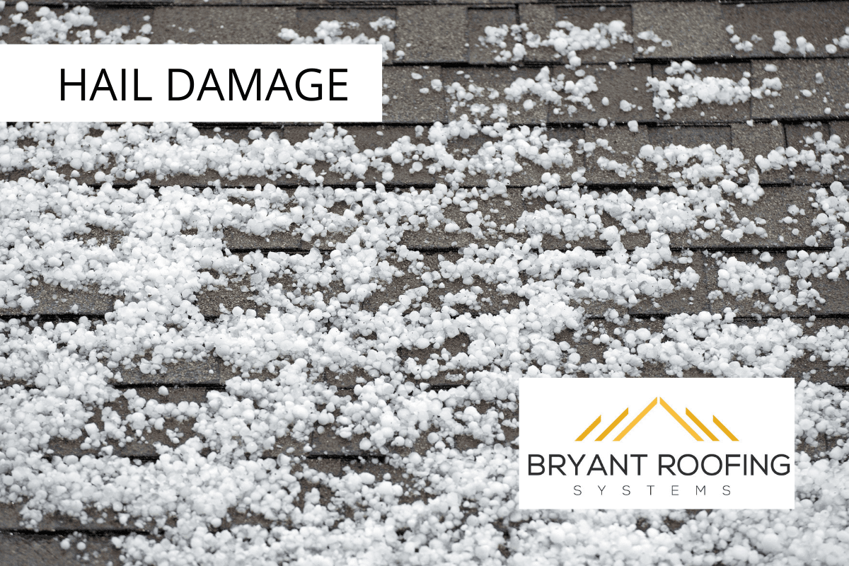 Roof Damage in a Hail Storm