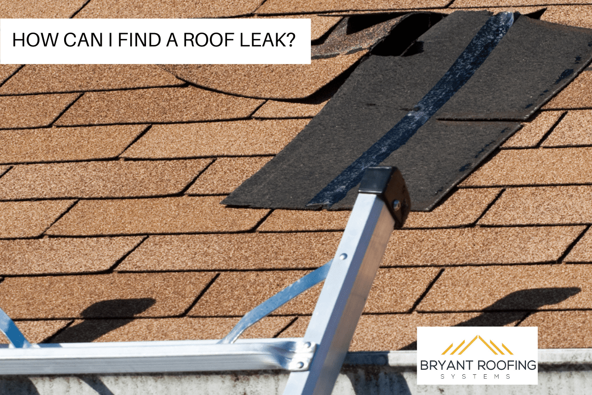 A Roof Leak Should be Easy to Detect