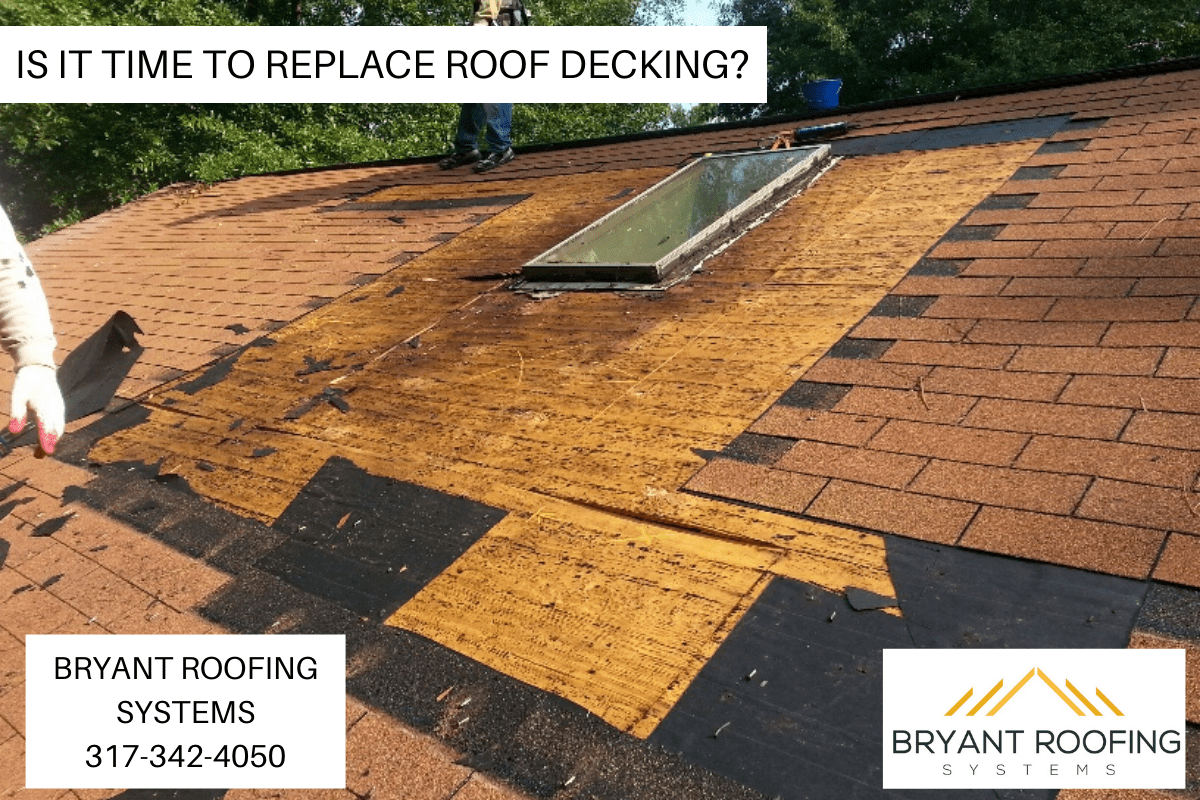 IS IT TIME TO REPLACE ROOF DECKING_