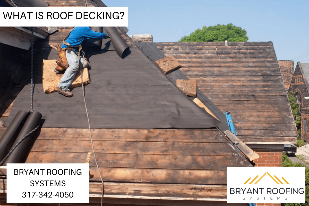 WHAT IS ROOF DECKING_