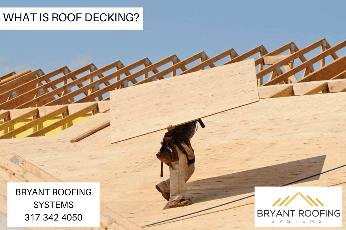 Wood Roof Decking