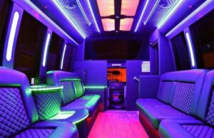Party Bus Chicago inside