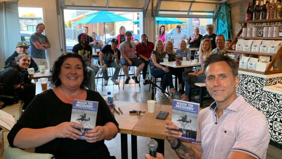 Book Signing at Baba Coffee