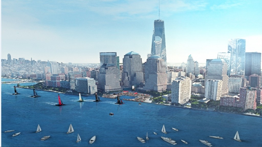 Up Close: 35th America's Cup Race in NY Harbor