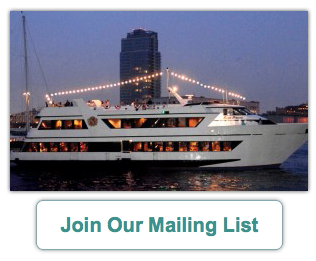 Join Our Mailing List - NY Boat Charter
