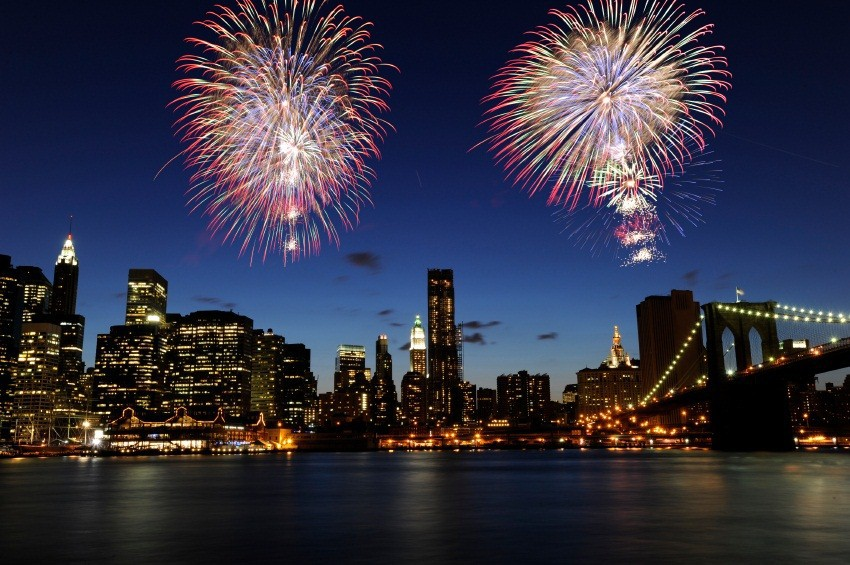 Front Row Seat to New Year's Eve Fireworks