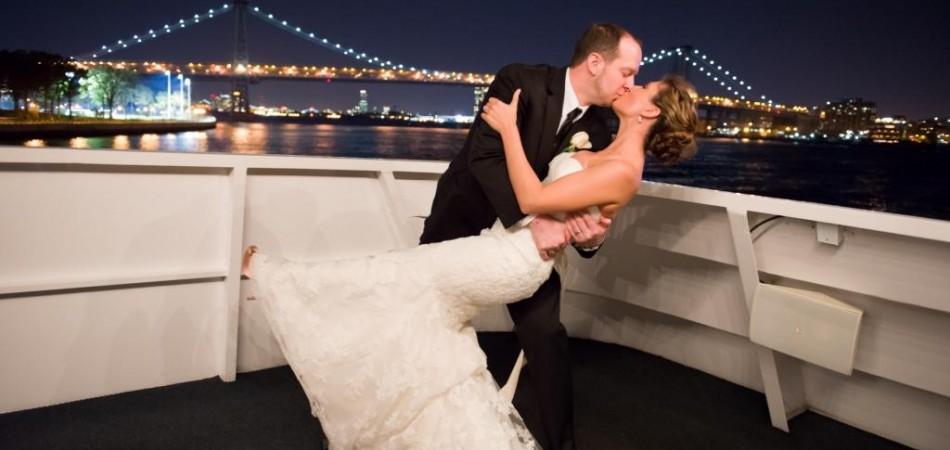 wedding aboard a yacht