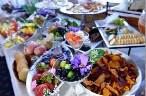 wedding food arrangement