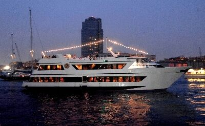 yacht for private events in nyc royal princess