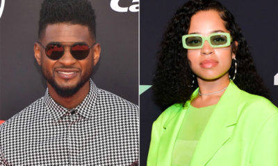 usher and ella mai