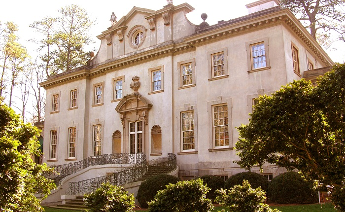 the atlanta history center's the swan house gay proposal places