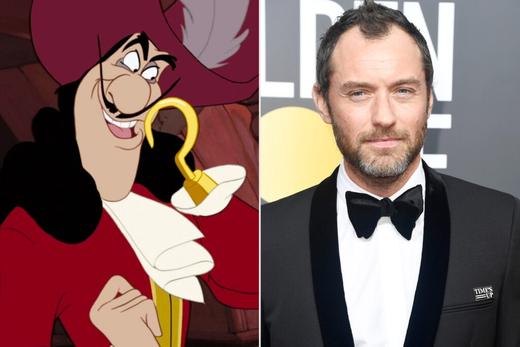jude law captain hook peter pan