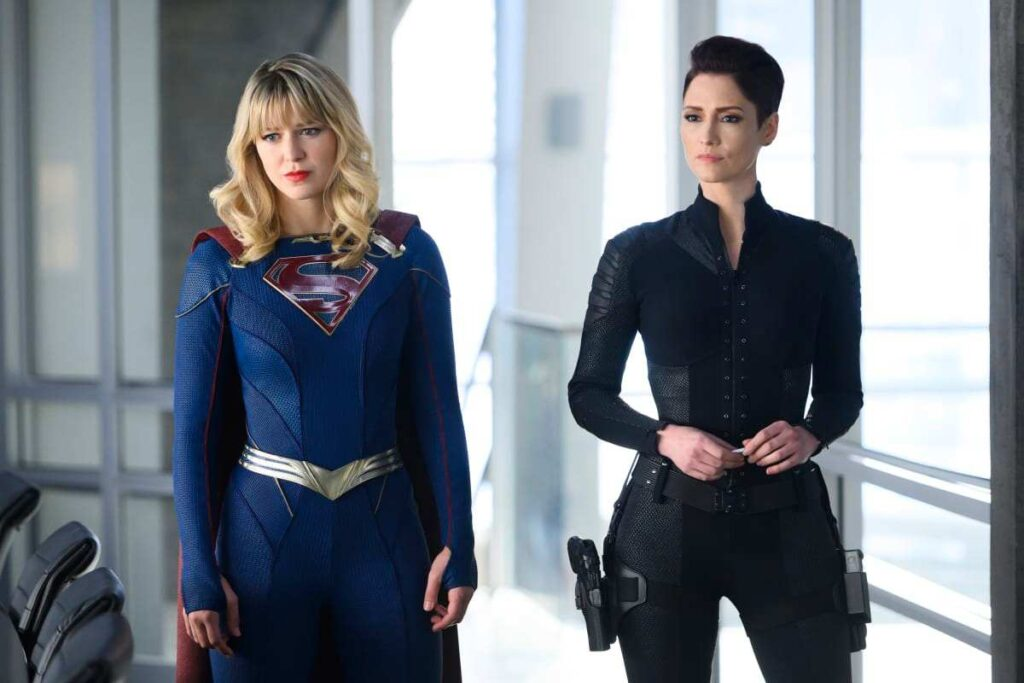 supergirl and alex danvers