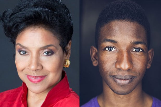 Phylicia Rashad and Mamadou Athie Black Box Movie