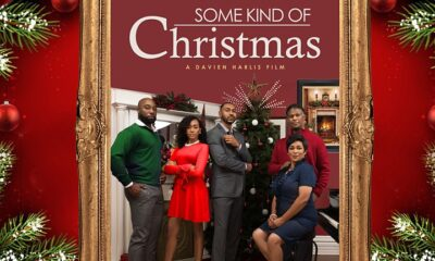 some kind of christmas movie poster davien harlis