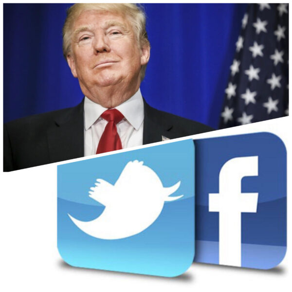 twitter and facebook lock donald trump's accounts