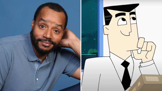 donald faison professor utonium power puff