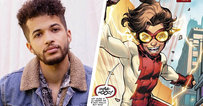 jordan fisher cast as bart allen impulse