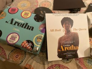 National Geographic's Genius: Aretha record player gift set