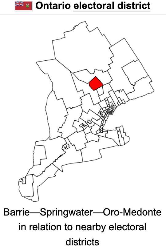 ORO-medonte barrie area
