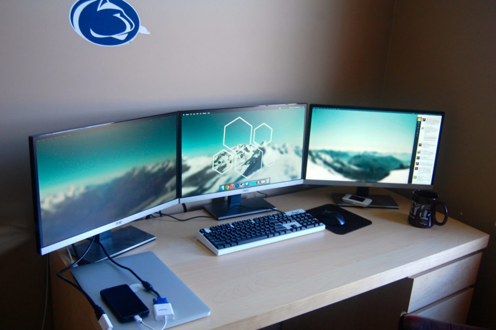 gaming monitor multi display setup