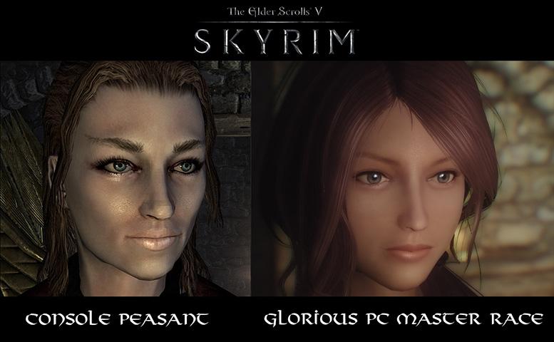 console vs pc graphics