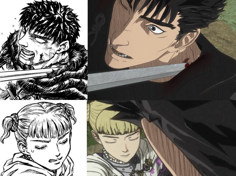 Lady Farnese vs gut manga vs anime