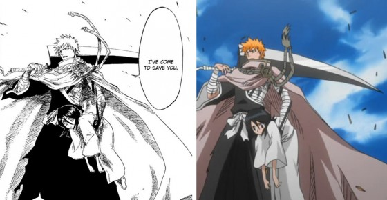 bleach animation and drawing