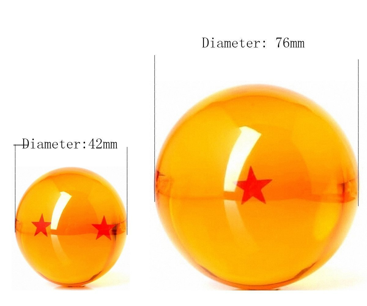 small dragonball replica vs big replica