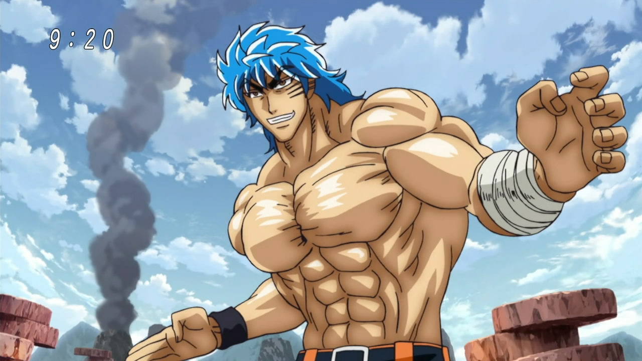 anime physique