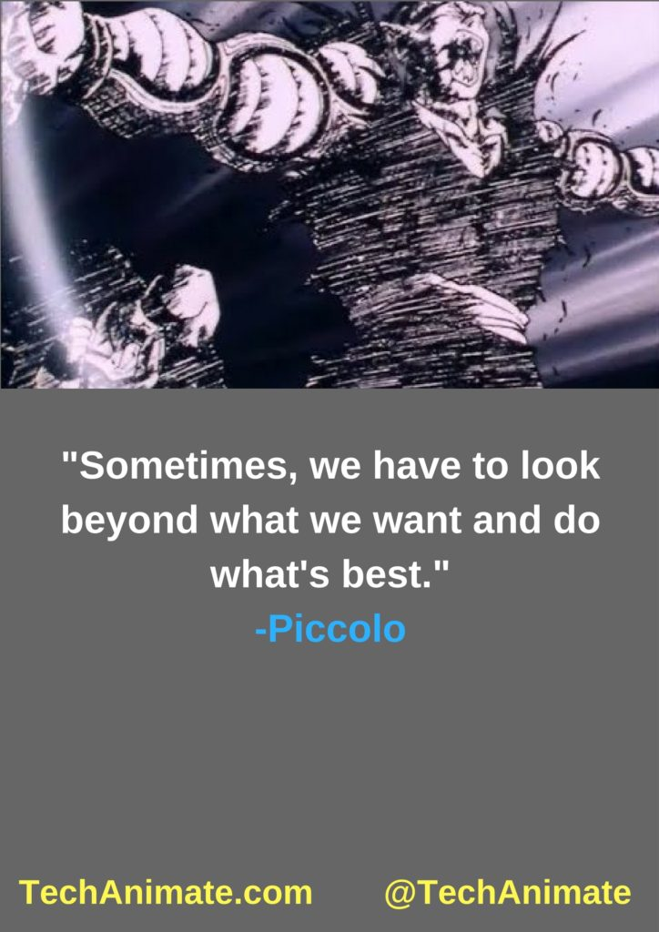 Sometimes, we have to look beyond what we want and do what's best.