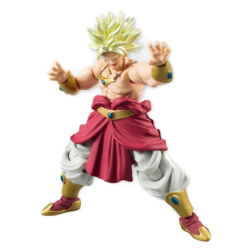 broly shouting action figure