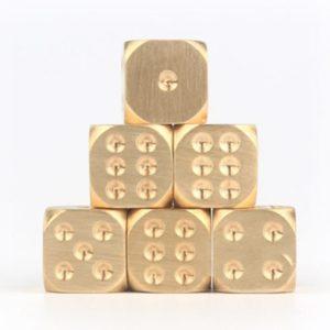 metal dice