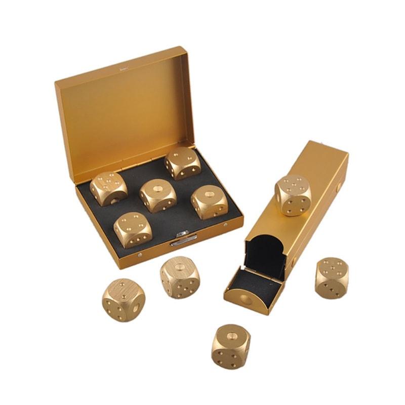 aluminium dice box