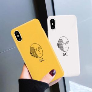 one punch man iphone cases
