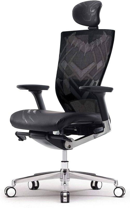 SIDIZ T50 Chair - Marvel Black Panther Edition